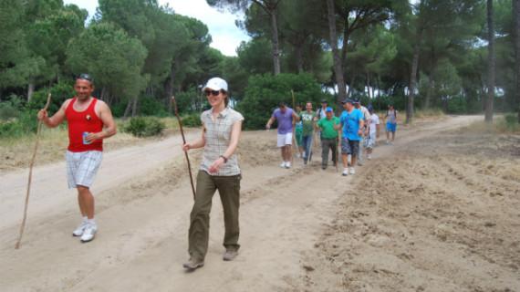 La Hermandad del Nazareno de Huelva organiza una peregrinación a la aldea de El Rocío
