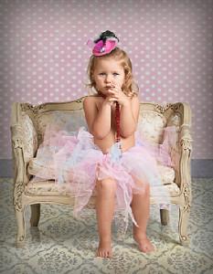 Retrato infantil con el que ha quedado finalista.