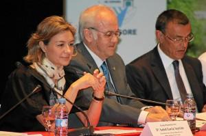 La ministra de Agricultura, Isabel García Tejerina, durante la inauguración del Congreso.