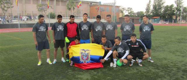 Los Huracanes de Ecuador, ganador del torneo en Lepe en su edición anterior.
