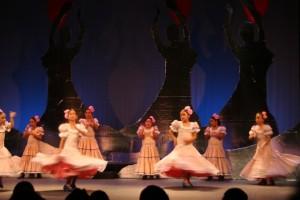 Actuación de la Escuela de baile de Lepe./FOTO: lepe.es