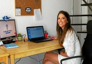 Belén Espino se ha formado en Turismo y Publicidad.