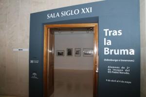 Entrada a la exposición. / Foto: Moisés Núñez.