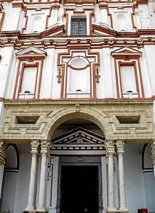 Iglesia y antiguo convento de la Merced y actual Auditorio de Sanlúcar de Barrameda.