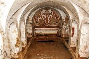 Estado actual de la cripta. / Foto: Adolfo Morales.