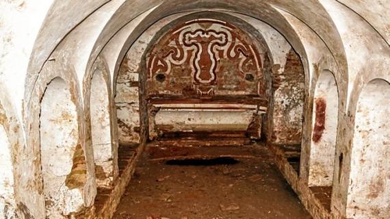 La cripta de la Iglesia-Catedral de La Merced de Huelva