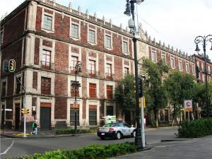 La Institución Nacional Monte de Piedad, en la actualidad.