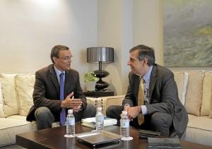 Ignacio Caraballo y Juan José García del Hoyo.