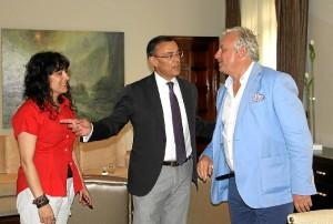 Caraballo dio la bienvenida al nuevo director.