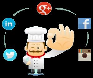 Las redes sociales es otro factor llamativo en su gestión.