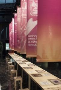 Exposición en el Centro de Recepción y Documentación, en las cocheras del Puerto.