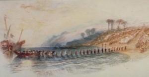 La obra de Turner recrea el poema mencionado en el texto.