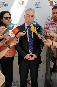 El secretario de los regantes de Palos, Fernando Sánchez, destacó que el Congreso ha dejado 3,5 millones de euros en la provincia.