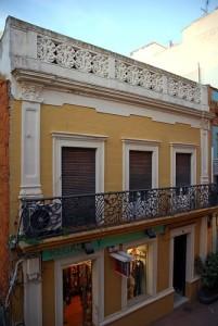Casa Cristóbal Yuste, en Huelva capital. / Foto: Blog Huelva al Descubierto.