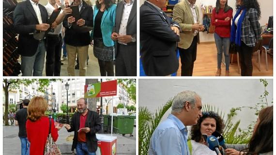 Continúa la campaña en Huelva de cara a las próximas Elecciones Europeas
