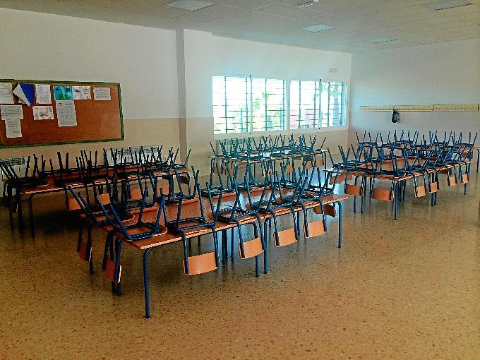 Las nuevas instalaciones beneficiarán a los 422 alumnos matriculados en el colegio.