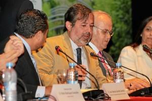 Federico Ramos ha agradecido la colaboración e implicación de las comunidades de regantes. / Foto: Moisés Núñez.