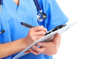 Acreditación profesional para sanitarios.