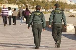 La Guardia Civil ha dirigido el operativo.