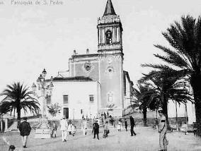La realización del mercado provocó el desmatelamiento del Cabezo de San Pedro.