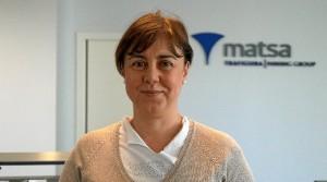 Isabel Zamora, directora facultativa de MATSA y directora de seguridad en la empresa.