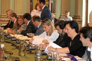 Otra de las imágenes del pleno. / Foto: Moisés Núñez.