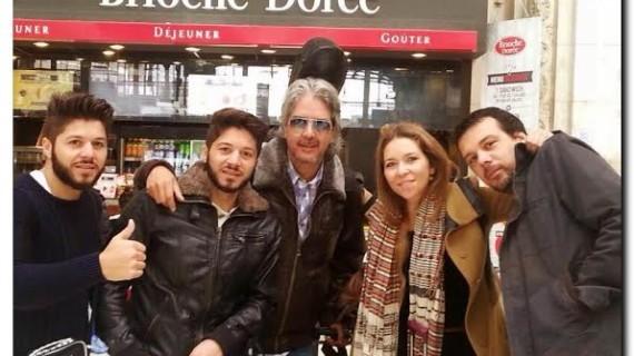 Rocío Márquez llena el teatro de Cherbourg en Francia acompañada de Los Mellis y Miguel Ángel Cortés