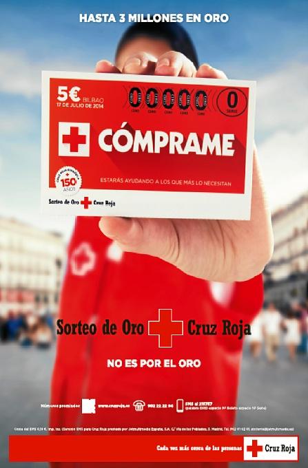 Cruz Roja llama a la participación de los onubenses en el Sorteo de Oro