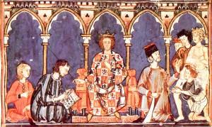 Alfonso X 'El Sabio' y su Corte.