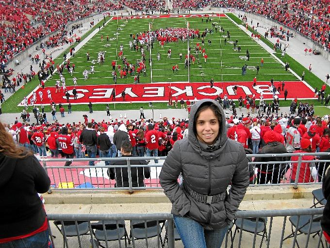 La joven farmacéutica Carmen Infante, de Palos a Oklahoma pasando por Ohio