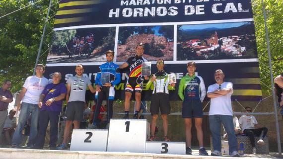 Juan Pedro Trujillo y Gema Bárcenas, vencedores del Maratón BTT Hornos de Cal celebrado en Santa Ana la Real