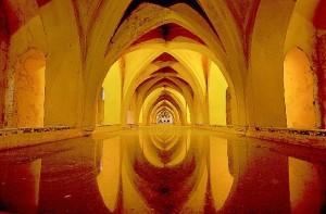 Baños de María de Padila, en el Real Alcázar de Sevilla.