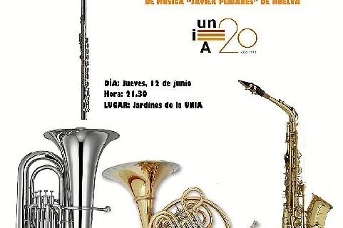 El campus de La Rábida acoge el I Encuentro de Bandas Sinfónicas 'Jardines de la UNIA'