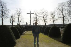 Cementerio militar de la 1ª Guerra Mundial.