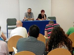 Presentación del libro 'A cielo abierto' de Ángel Romero en el Centro Penitenciario.