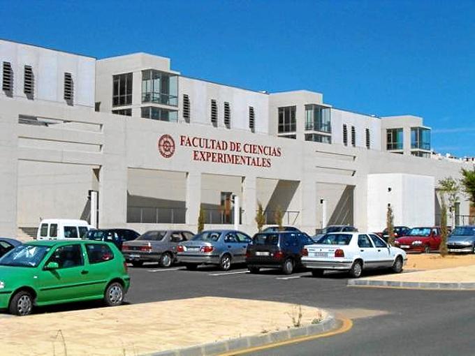 Facultad de Ciencias Experimentales de la Universidad de Huelva.