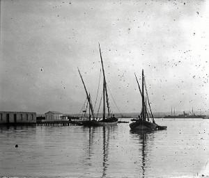 Las imágenes son de inicios del siglo XX.