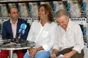 Pepe 'El Marismeño' ha presentado su nuevo disco en el Mercado del Carmen de Huelva. / Foto: Moisés Núñez.