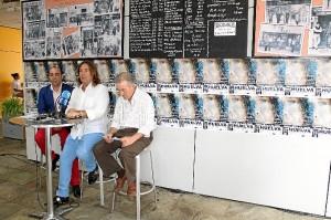 Pepe ha querido animar a los onubenses a que le acompañen en su concierto. / Foto: Moisés Núñez.