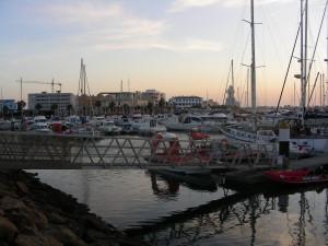 Su primer destino fue Isla Cristina, de donde guarda muy buen recuerdo.