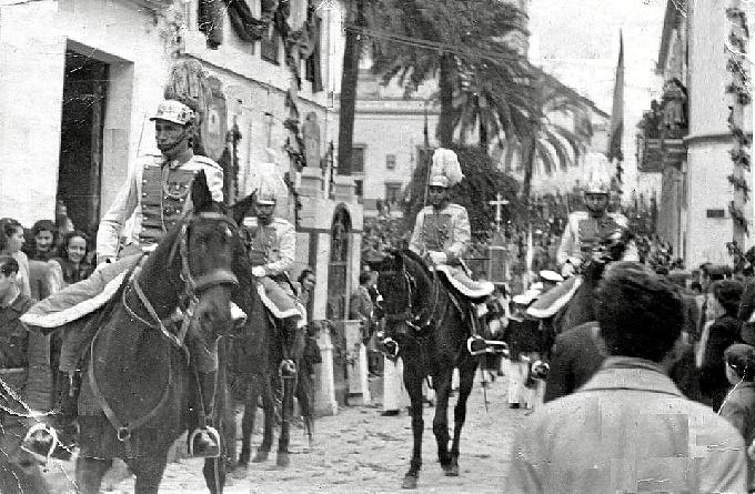 Fiestas de San Sebastián en Huelva en la década de los cincuenta del pasado siglo XX
