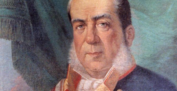 Luis Hernández-Pinzón, el moguereño que fue almirante de la Real Armada de Isabel II