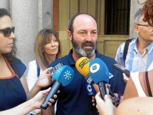Pedro Jiménez, coordinador provincial de IU.