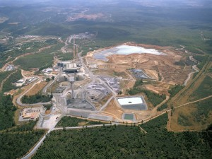 Vista aerea de las instalaciones de Matsa