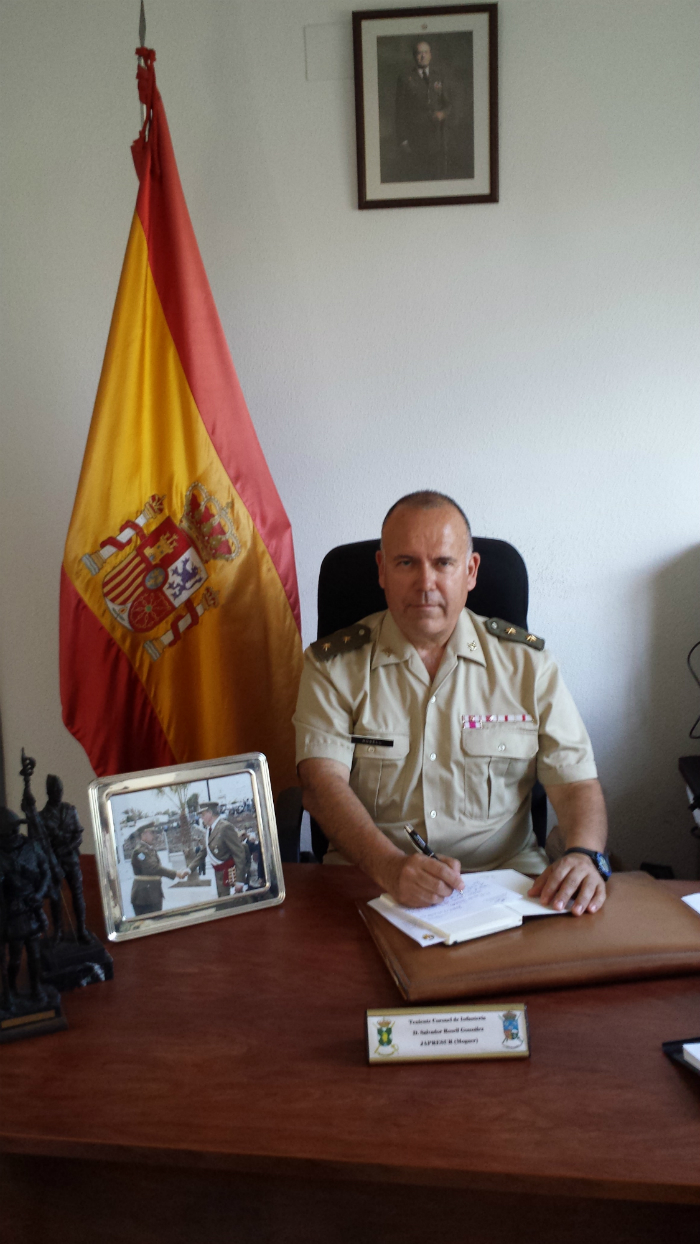 Salvador Rosell, responsable de la Comandancia de Huelva.
