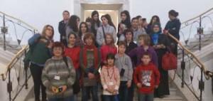 Participantes del programa Comenius de Almonte.