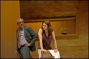 Los populares actores Jordi Rebellón y Alicia Borrachero.