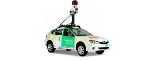 Vehículo con el que recorren el mundo realizando fotografías. / Foto: Google Street View.