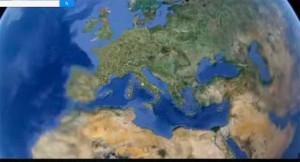 El mundo al alcance de la mano con internet. / Foto: Google Street View.