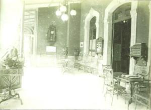 Una galería del pabellón sur./Foto:huelvaenimagenes.wordpress.es